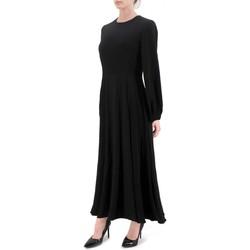 Vêtements Femme Robes longues Anonyme | Robe noire en cuvette | ANY_P129FD144_BLACK Noir