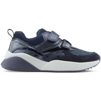 Chaussures Fille Baskets basses Geox SINEAD GB CHAUSSURES DK_NAVY