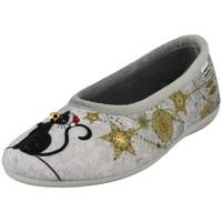 Chaussures Femme Chaussons La Maison De L'espadrille n450 gris
