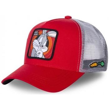 Accessoires textile Homme Casquettes Capslab Casquette  trucker Looney Tunes bugs bunny Rouge Rouge