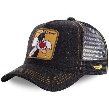 Accessoires textile Homme Casquettes Capslab Casquette  Trucker Looney Tunes Gros Minet Noir Noir