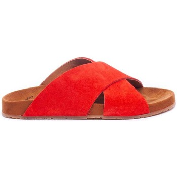 Chaussures Femme Mules Wikers  Rojo