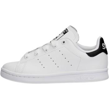 Chaussures Garçon Baskets basses adidas Originals - Stan smith bianco EE7578 BIANCO