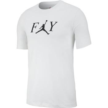 Vêtements Homme T-shirts manches courtes Air Jordan - T-Shirt Fly - AT8932 Blanc
