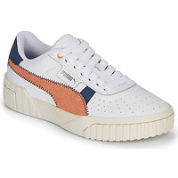 Chaussures Femme Baskets basses Puma CALI Blanc / Rouille / Marine