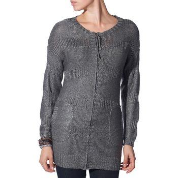 Vêtements Femme Gilets / Cardigans Kebello Cardigan Margi Taille : F Gris S Gris