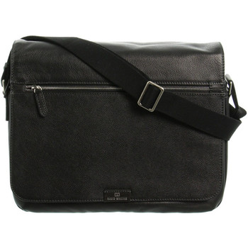 Sacs Porte-Documents / Serviettes David William Sac reporter  en cuir ref_46637 Noir 40*35*7 noir