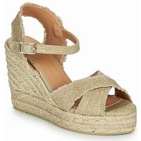Chaussures Femme Sandales et Nu-pieds Castaner BROMELIA Or