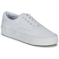 Chaussures Femme Baskets basses Superdry CLASSIC LACE UP TRAINER Blanc