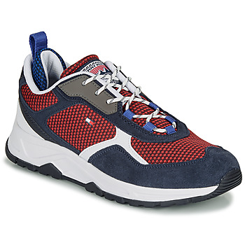 Chaussures Homme Baskets basses Tommy Hilfiger FASHION MIX SNEAKER Bleu