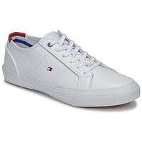 Chaussures Homme Baskets basses Tommy Hilfiger CORE CORPORATE FLAG SNEAKER Blanc