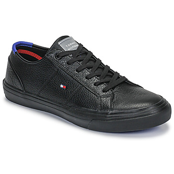 Chaussures Homme Baskets basses Tommy Hilfiger CORE CORPORATE FLAG SNEAKER Noir