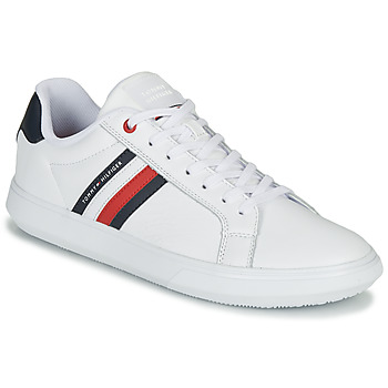 Chaussures Homme Baskets basses Tommy Hilfiger ESSENTIAL LEATHER CUPSOLE Blanc