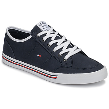 Chaussures Homme Baskets basses Tommy Hilfiger CORE CORPORATE TEXTILE SNEAKER Bleu