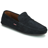 Chaussures Homme Mocassins Tommy Hilfiger CLASSIC SUEDE PENNY LOAFER Bleu