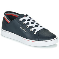 Chaussures Femme Baskets basses Tommy Hilfiger GLITTER DETAIL CITY SNEAKER Bleu