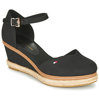 Tommy Hilfiger Basic Opened Toe High Wedge Sandales Bout Ouvert Femme