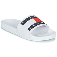 Chaussures Femme Baskets basses Tommy Jeans TOMMY JEANS FLAG POOL SLIDE Blanc