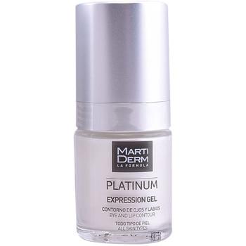 Beauté Anti-Age & Anti-rides Martiderm Platinum Expression Eyes & Lips Contour Gel  15 ml