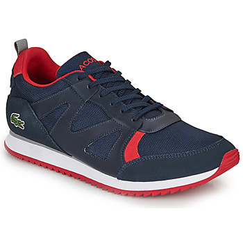 Chaussures Homme Baskets basses Lacoste AESTHET 120 2 SMA Bleu / rouge