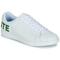 Chaussures Homme Baskets basses Lacoste CARNABY EVO 120 7 US SMA Blanc / Vert