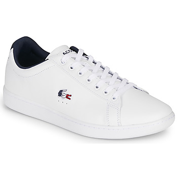Chaussures Homme Baskets basses Lacoste CARNABY EVO TRI1 SMA Blanc