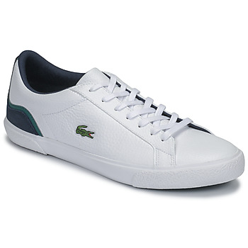 Chaussures Homme Baskets basses Lacoste LEROND 120 3 CMA Blanc / Marine / Vert