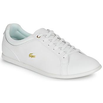 Chaussures Femme Baskets basses Lacoste REY LACE 120 1 CFA Blanc / Doré