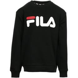 Vêtements Enfant Sweats Fila Kids Classic Logo Crew Sweat noir