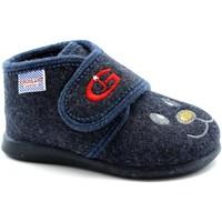 Chaussures Garçon Chaussons bébés Grunland GRU-I19-PA0579-BL Blu
