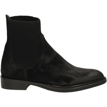 Chaussures Femme Bottines Now VELOUR nero