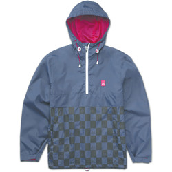Vêtements Homme Coupes vent Es LEAGUE PO ANORAK NAVY