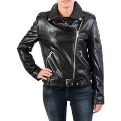 Vêtements Femme Blousons Na-Kd Veste NAKD Pu Leather Biker Jacket Antracite