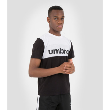 Vêtements T-shirts manches courtes Umbro T-shirt Coton Big Logo Authentic NOIR
