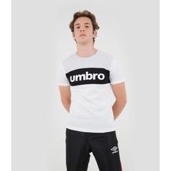Vêtements Homme T-shirts manches courtes Umbro T-shirt Coton Big Logo Authentic BLANC