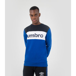 Vêtements Sweats Umbro Pull A Col Rond Authentic Big Logo BLEU