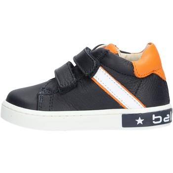 Chaussures Garçon Baskets basses Balducci - Polacchino blu/arancione MSPO3052 BLU