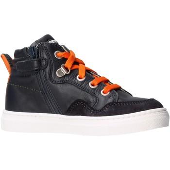 Chaussures Garçon Baskets montantes Balducci - Polacchino blu BUTT1556 BLU
