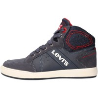 Chaussures Garçon Baskets montantes Levi's - New madison blu VCLU0030S-0040 BLU