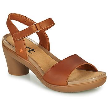 Chaussures Femme Sandales et Nu-pieds Art ALFAMA Marron