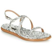 Chaussures Femme Sandales et Nu-pieds Neosens AURORA Blanc / Argent