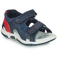 Chaussures Garçon Sandales sport Chicco FLORIAN Marine / Rouge