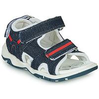 Chaussures Garçon Sandales sport Chicco COLBY Bleu / Rouge