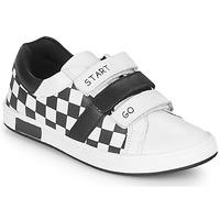 Chaussures Garçon Baskets basses Chicco CANDITO Blanc / Noir