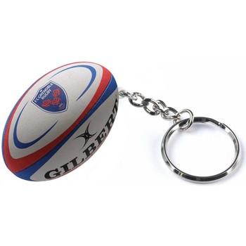 Accessoires textile Porte-clés Gilbert Porte clés rugby - Grenoble - Blanc