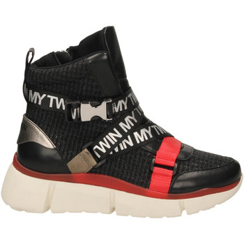 Chaussures Femme Boots Twin Set SNEAKERS 00006-nero