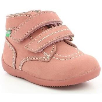 Chaussures Enfant Boots Kickers Bonkro ROSE