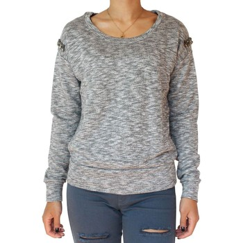Vêtements Femme Pulls Kebello Pull Spacey F Gris Gris