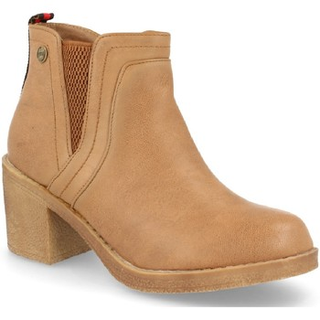 Chaussures Femme Bottines H&d HD-527 Camel