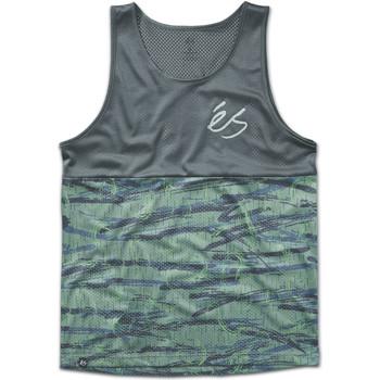 Vêtements Homme Débardeurs / T-shirts sans manche Es COURT TANK OLIVE BLACK